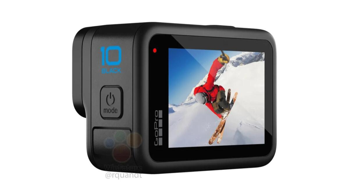 Le probable design de la GoPro Hero 10 Black.