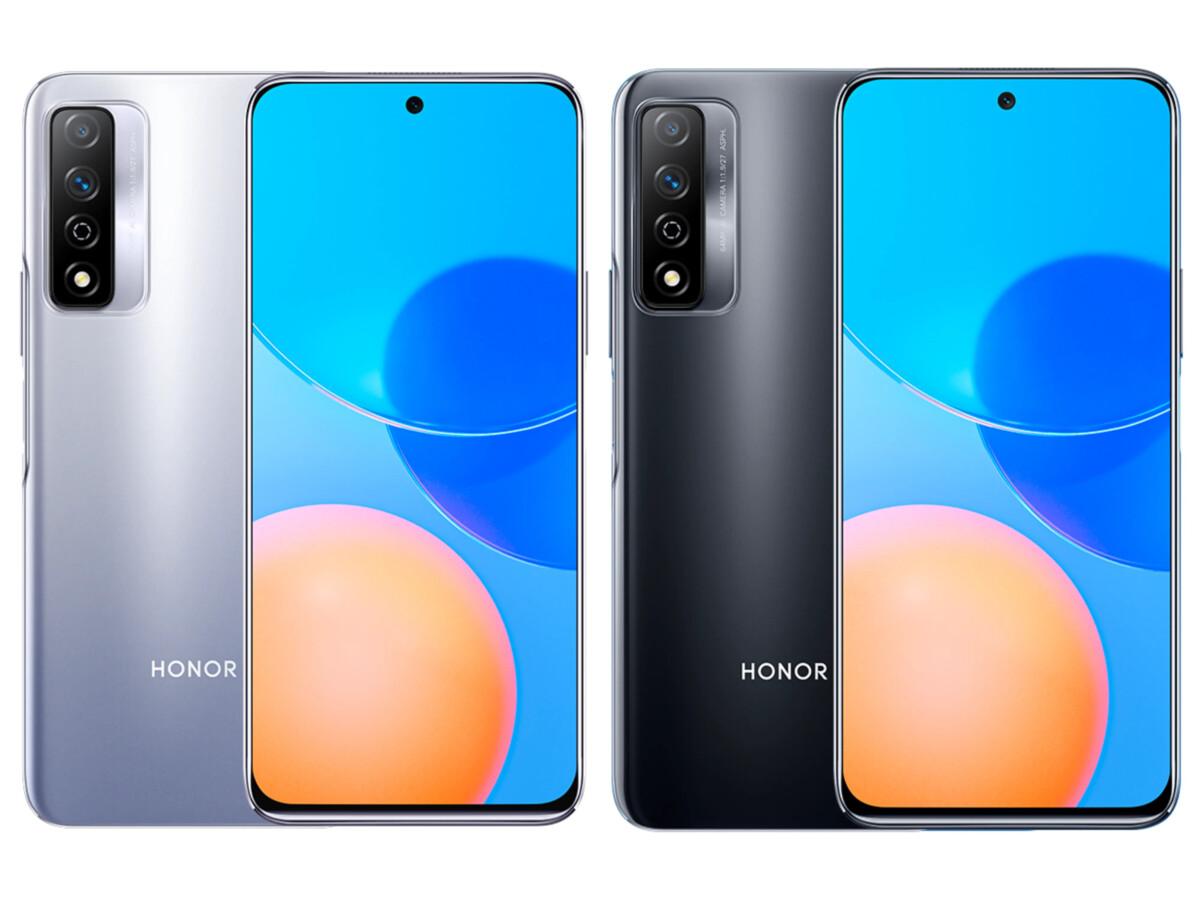 Rendu 3D de l'Honor Play5T Pro produit par 91 Mobiles