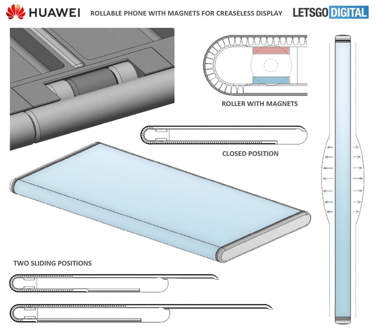 Huawei travaillerait à un smartphone à écran enroulable