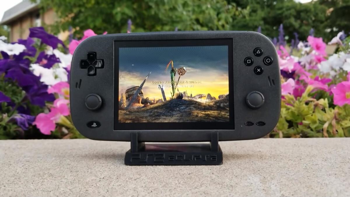 Voici une PS2 portable, telle quelle aurait pu vraiment exister