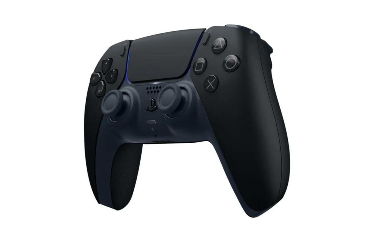 Le coloris noir de la DualSense pour PS5.
