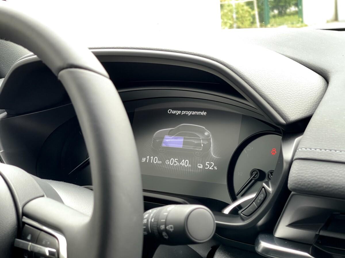 La recharge de la Mazda MX-30