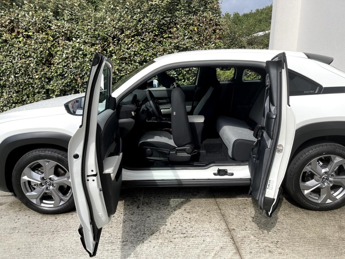 Les portes antagonistes de la Mazda MX-30