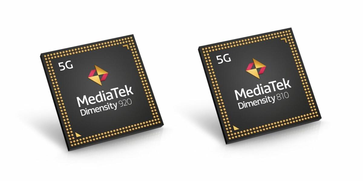 Les Dimensity 920 et 810 arrivent pour ragaillardir l'offre milieu de gamme de MediaTek
