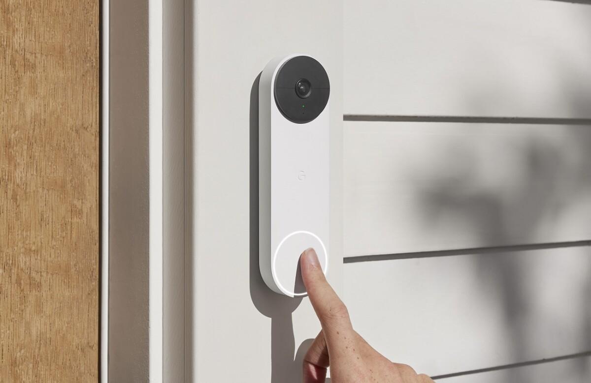 La sonnette Nest Doorbell
