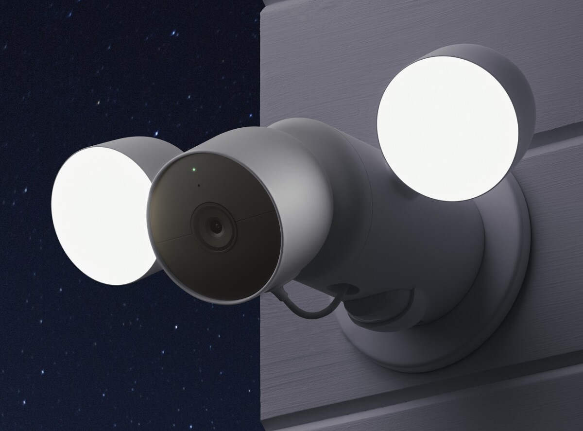 La caméra Nest Cam avec floodlight