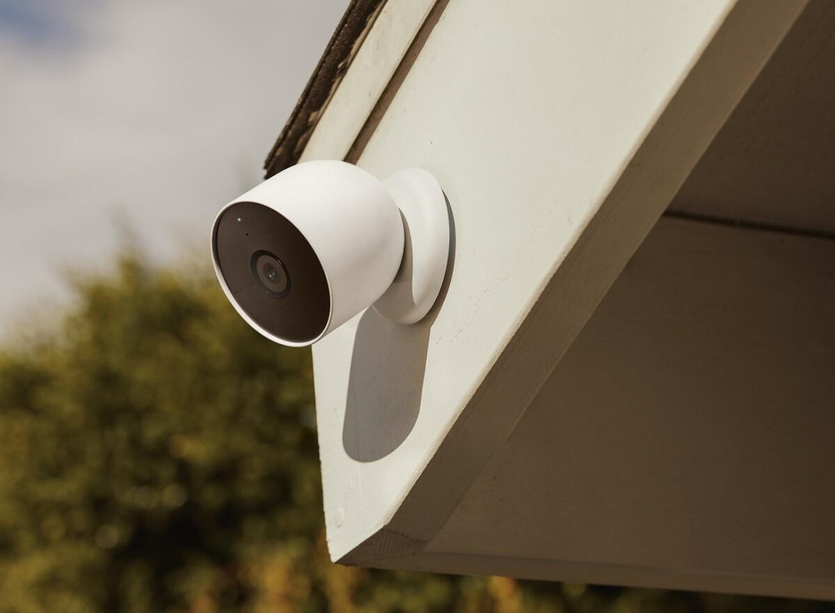 La caméra Nest Cam avec batterie