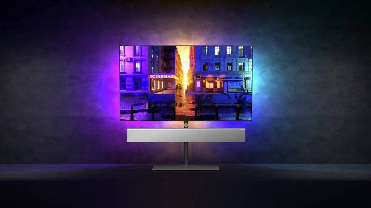 Philips OLED986 : un téléviseur 4K gaming qui va faire du bruit