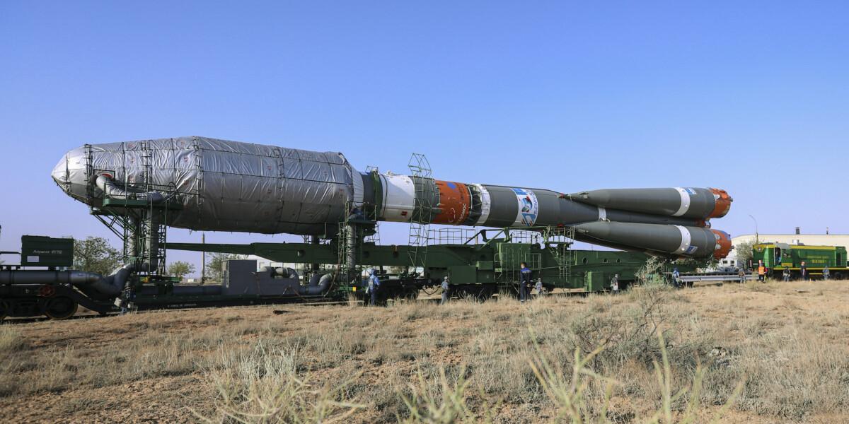 La fusée russe Soyouz, opérée par l'européen Arianespace