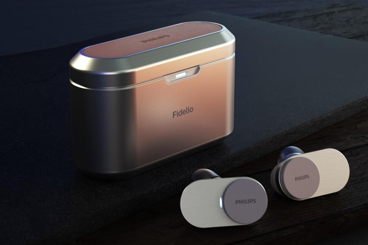 Les Philips FidelioT1.