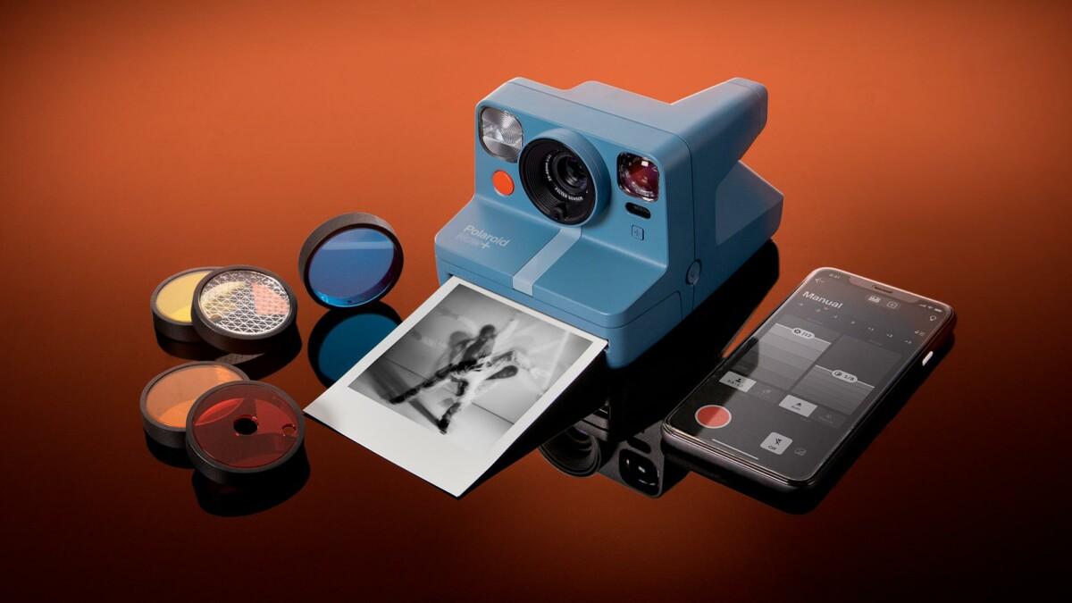 Le Polaroid Now+ et ses filtres colorés