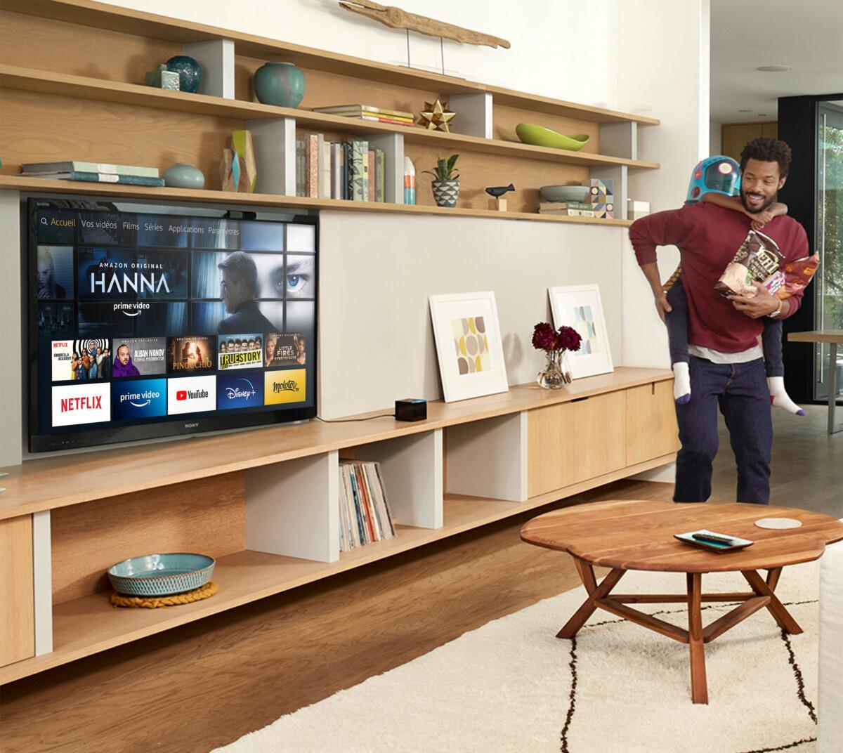 L'interface d'Amazon Fire TV