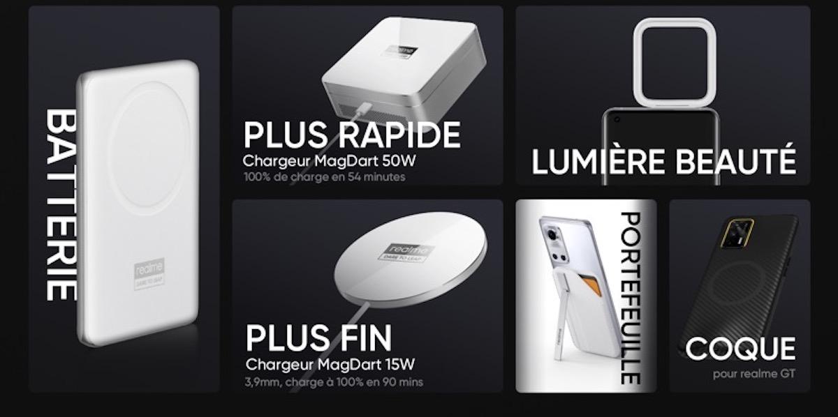 Realme lance tout un écosystème de produit magnétique dont des chargeurs sans fil