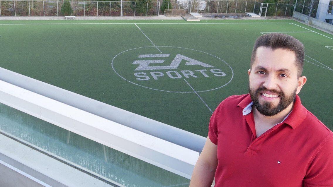Sam Rivera, le producteur associé sur FIFA