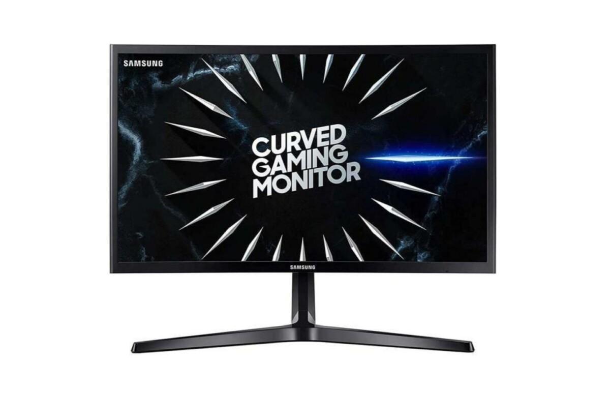 Seulement 139 € pour cet écran gaming incurvé Samsung 24″ (144 Hz, 4ms)