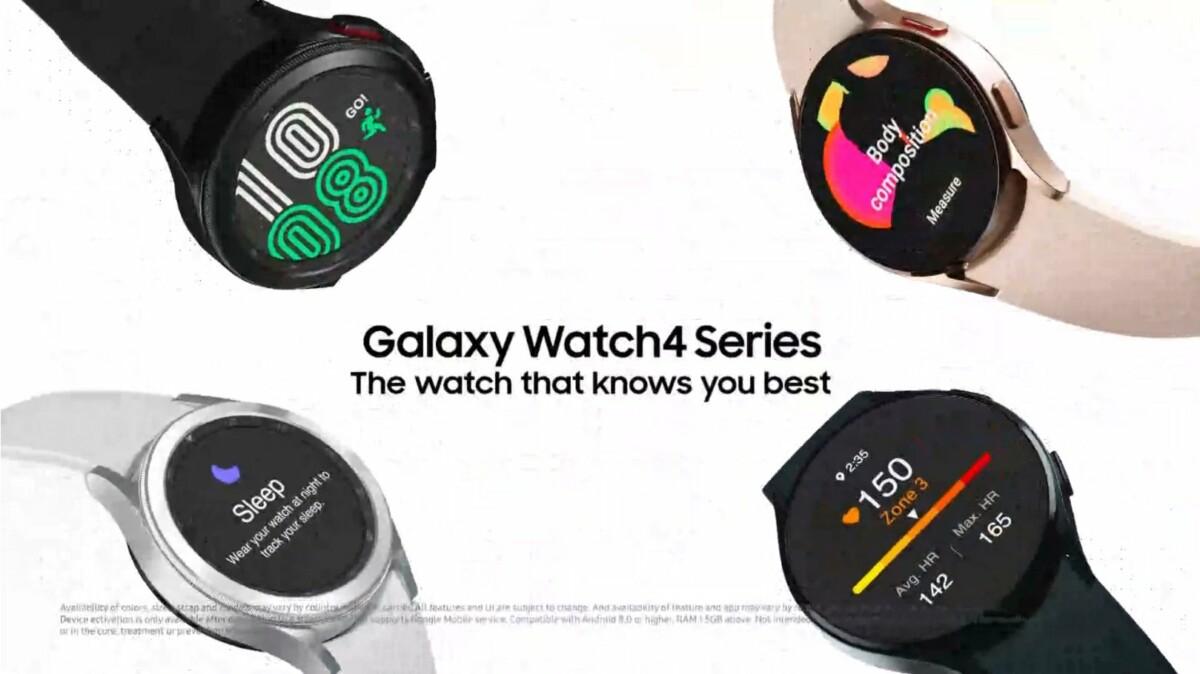 Samsung Galaxy Watch 4 et Watch 4 Classic : la fuite qui dévoile tous les détails