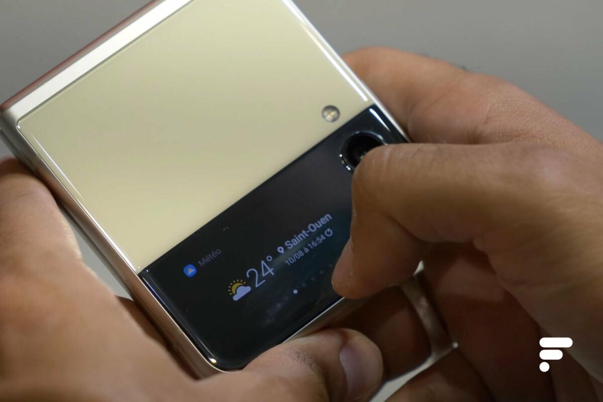 Prise en main Samsung Galaxy Z Flip 3