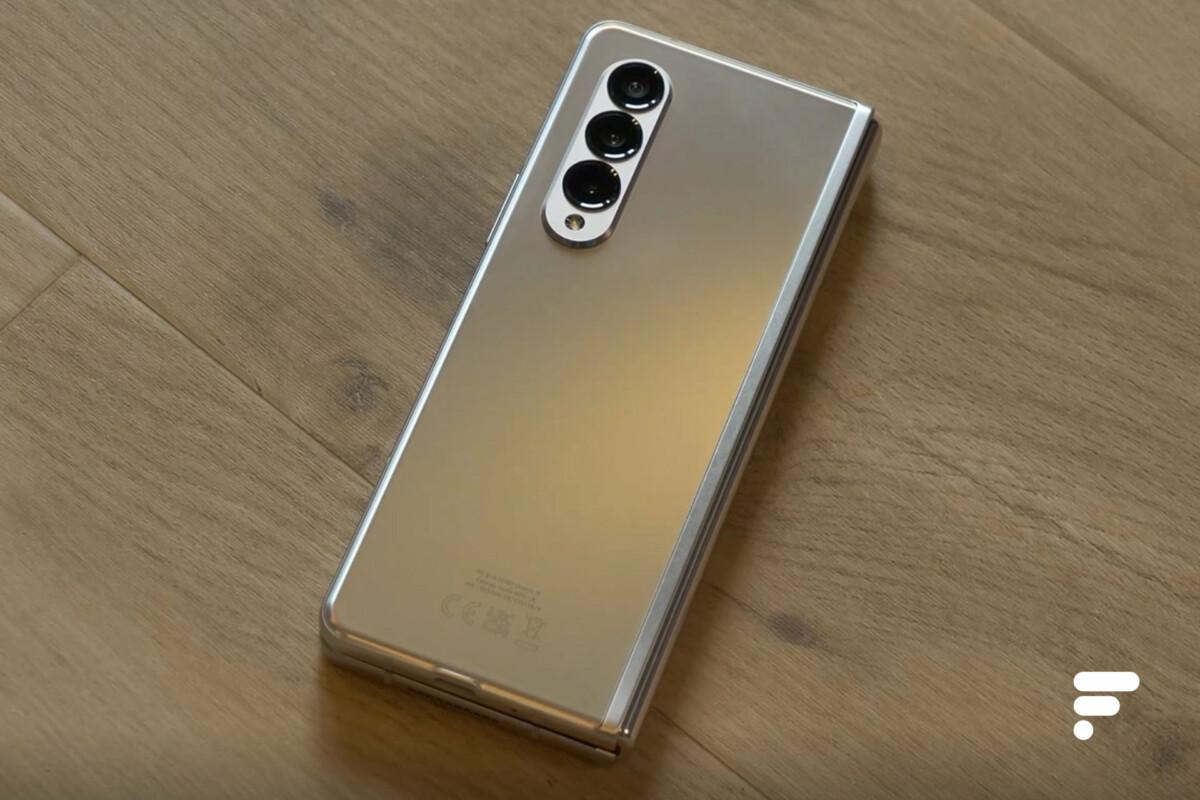 Prise en main du Samsung Galaxy Z Fold 3