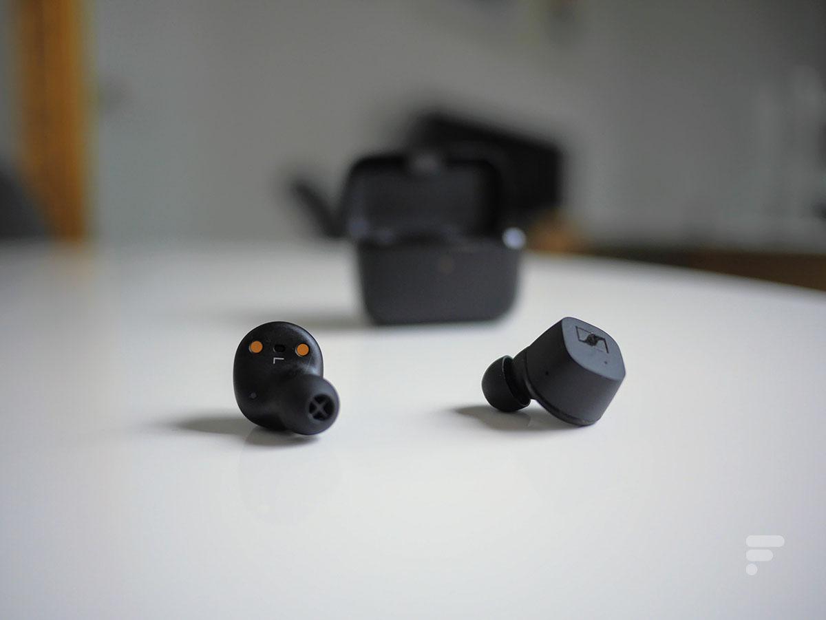 Les Sennheiser CX True Wireless sont des écouteurs intra-auriculaires
