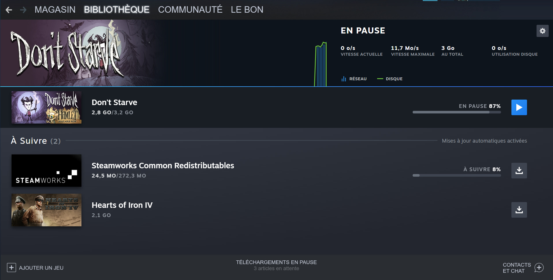 Steam : la nouvelle interface pour les téléchargements va être bien plus claire et satisfaisante