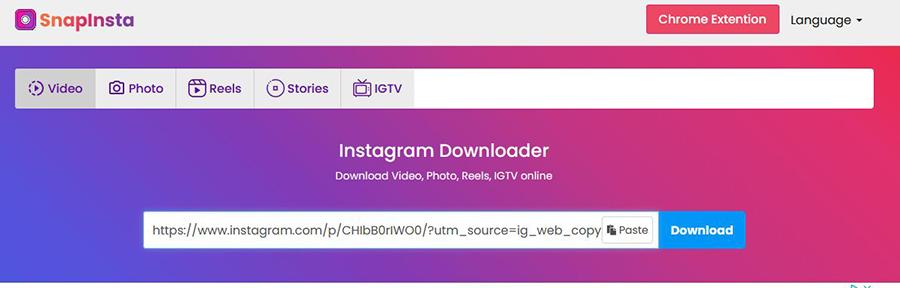 Comment télécharger une vidéo sur Instagram?