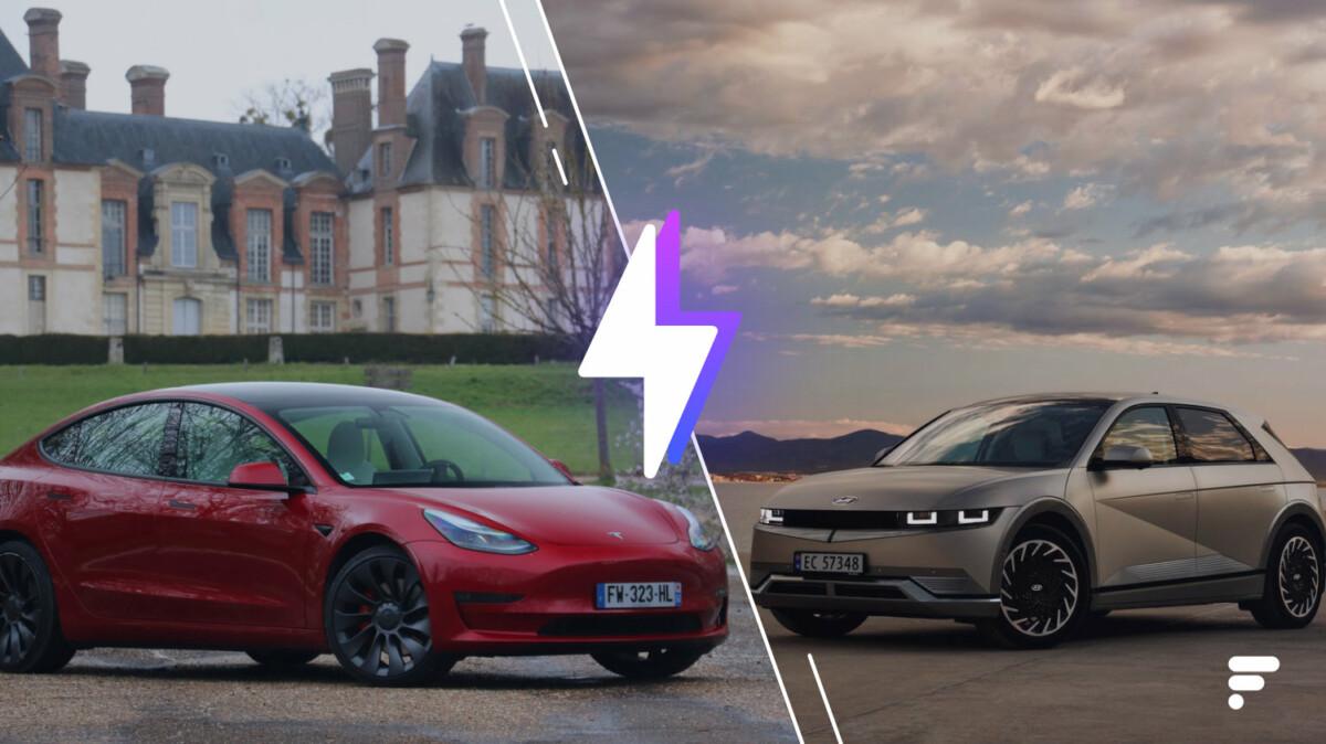 Tesla Model 3 vs Hyundai Ioniq 5