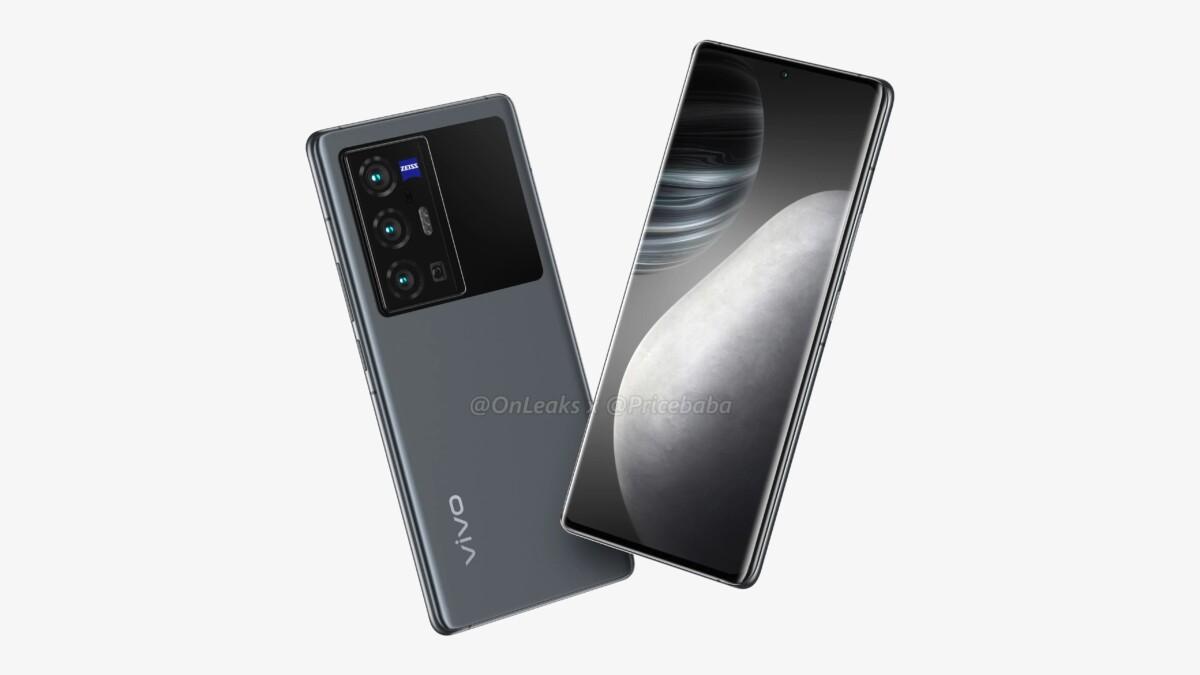 Rendu 3D du Vivo X70 Pro Plus