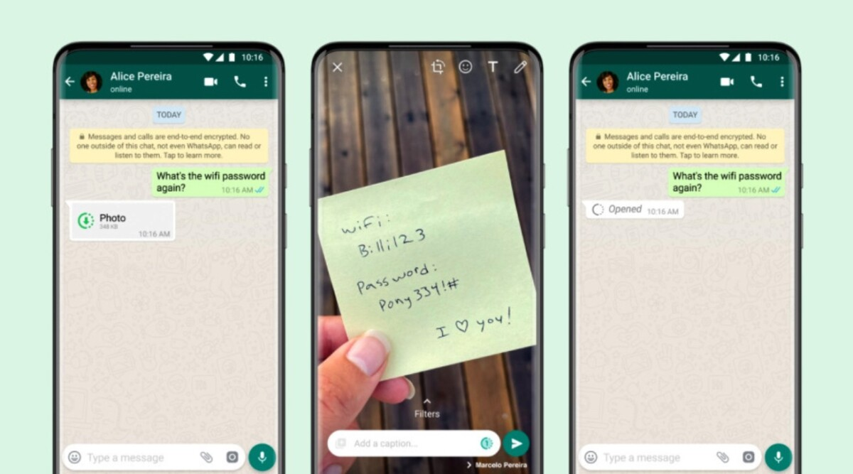 WhatsApp is late adopting self-destruct functionality for photos and videos