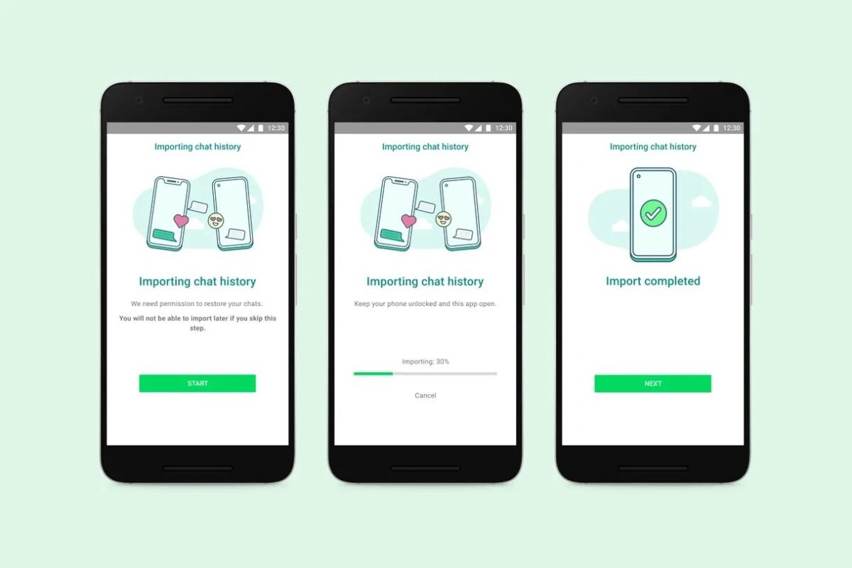 WhatsApp : le transfert des conversations d'un iPhone vers Android est confirmé