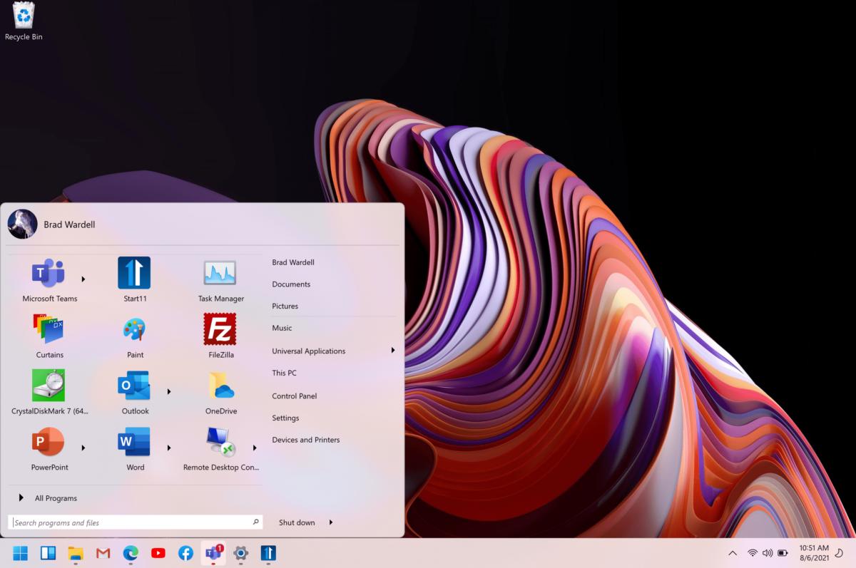 Windows 11 : un outil pour retrouver un menu Démarrer classique et le personnaliser