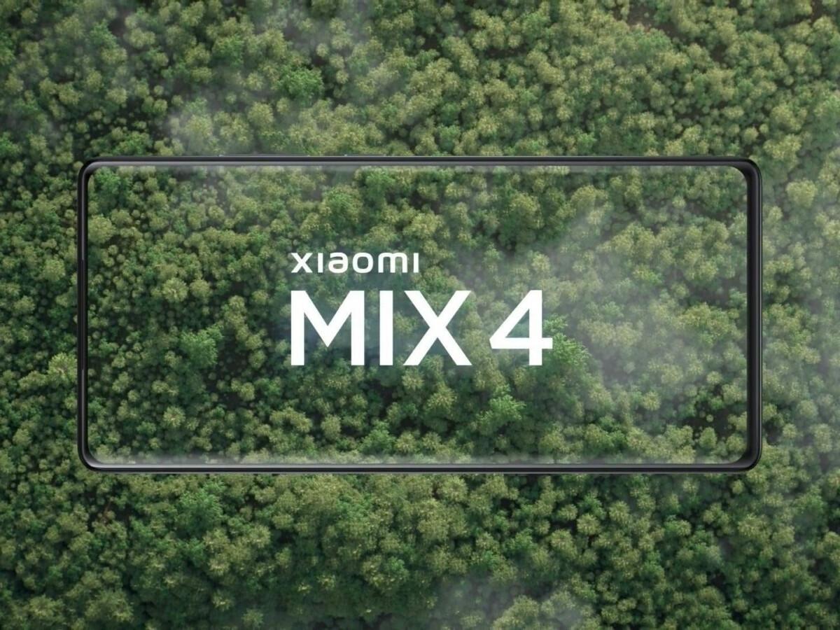 Visuel de présentation teaser du Mi Mix 4