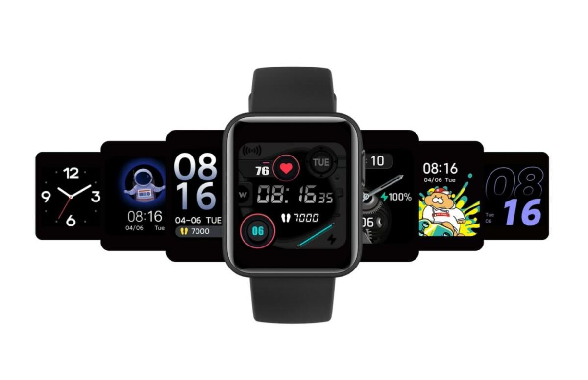 Les différents écrans disponibles sur la Xiaomi Mi Watch Lite