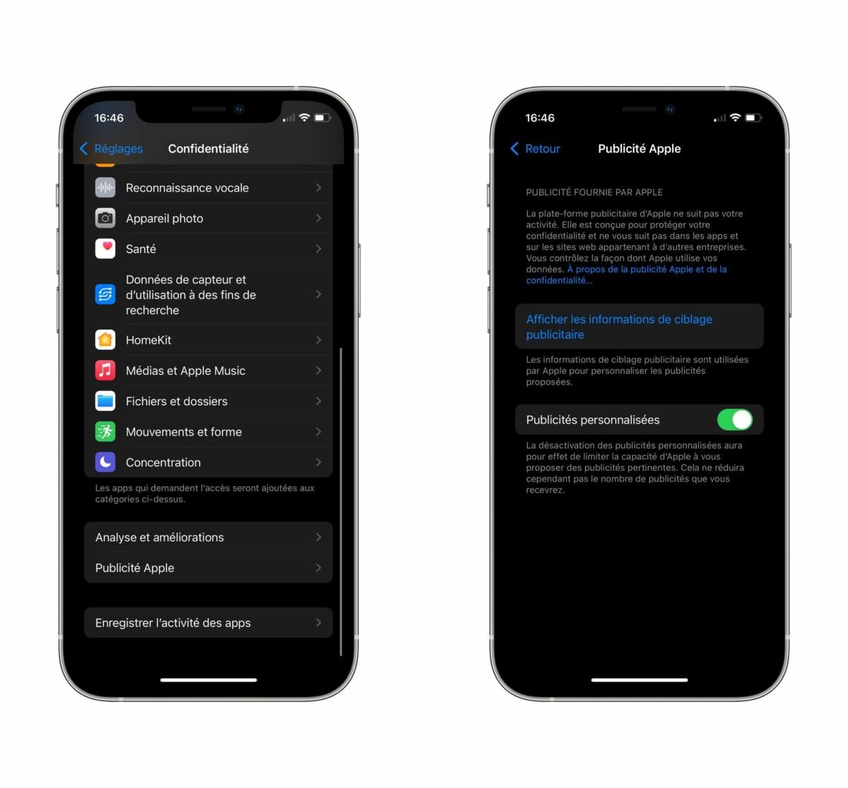 Pas le choix, Apple demande enfin notre consentement pour diffuser ses publicités personnalisées