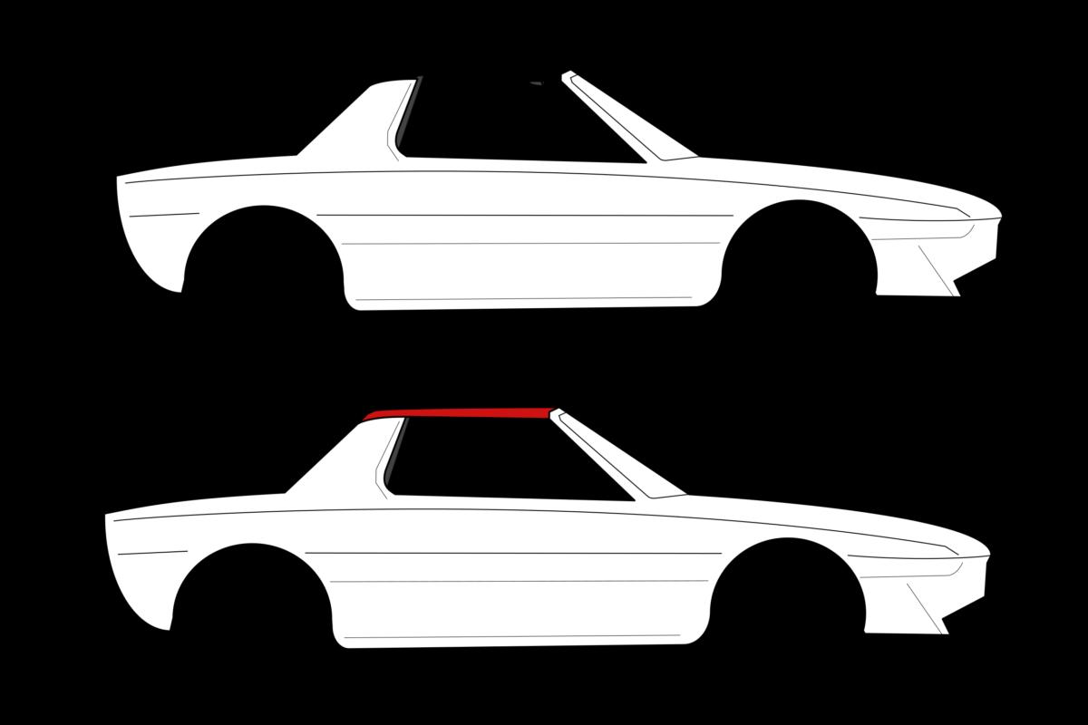 Exemple de carrosserie Targa