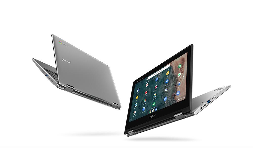 Autonomie et polyvalence : le Chromebook Acer Spin 513 Touch est à 329 euros