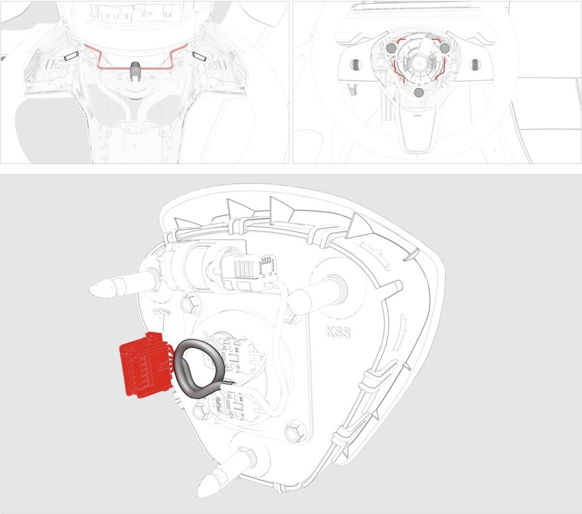 La procédure pour enlever l'Airbag sur une Tesla Model 3
