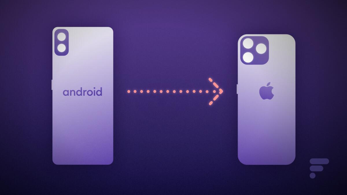 Passa da Android a iPhone: come trasferire account, foto, contatti e app