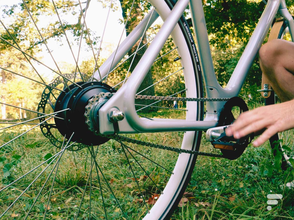 L'Angell Bike fait l'impasse sur la courroie