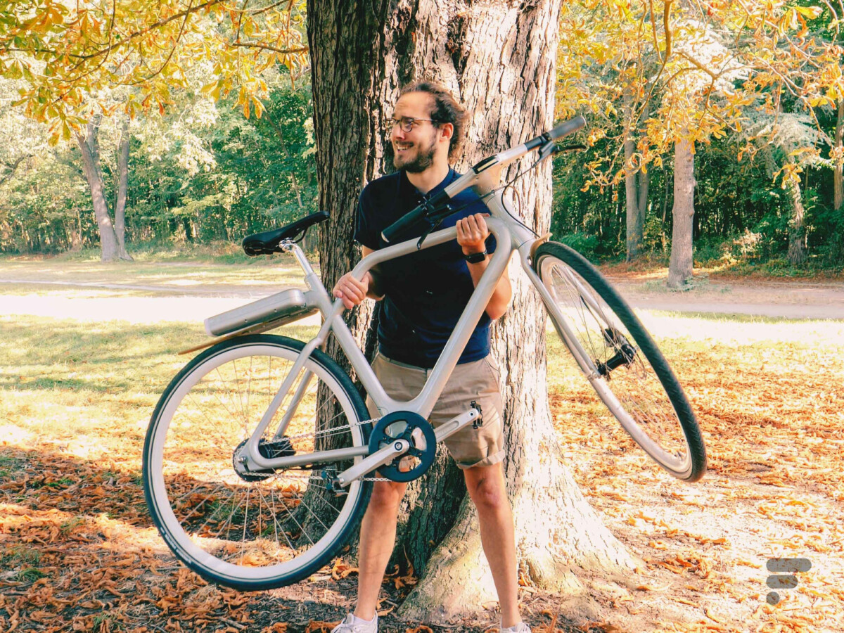 L'Angell Bike est léger