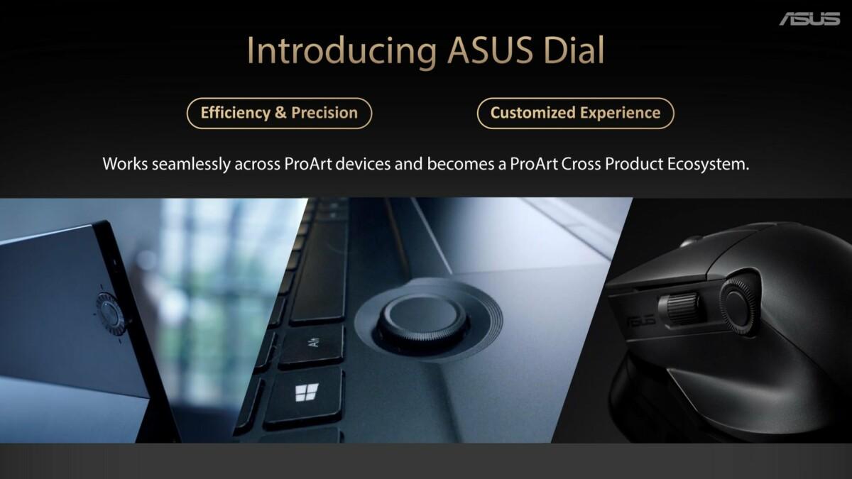 OLED, Asus Dial, choix entre AMD et Intel : les PC portables Asus ont beaucoup d'arguments pour la rentrée
