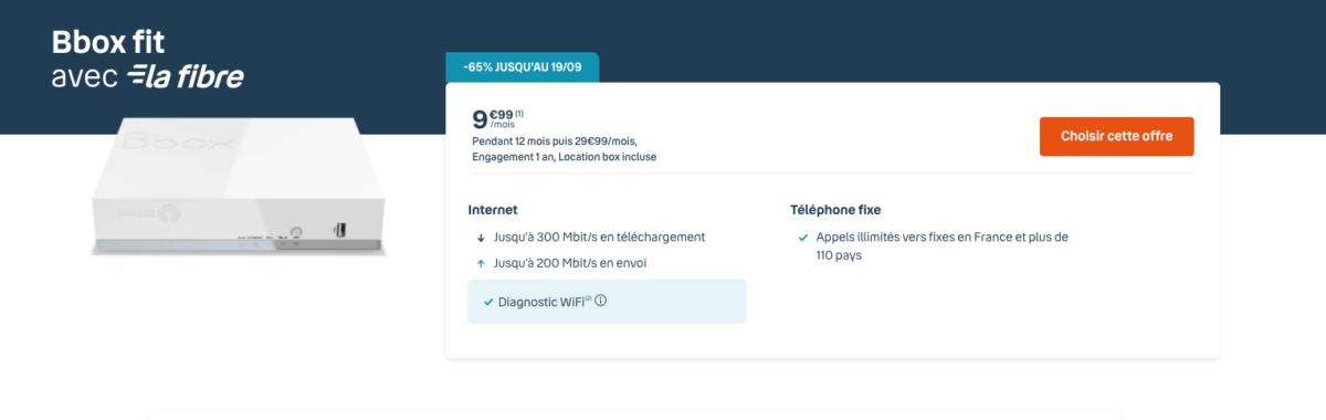 L'abonnement internet fibre ne coûte que 9,99€/mois grâce à cette vente à durée limitée