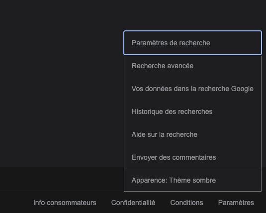 Vous pouvez désormais activer le mode sombre dans Google Search, voici comment