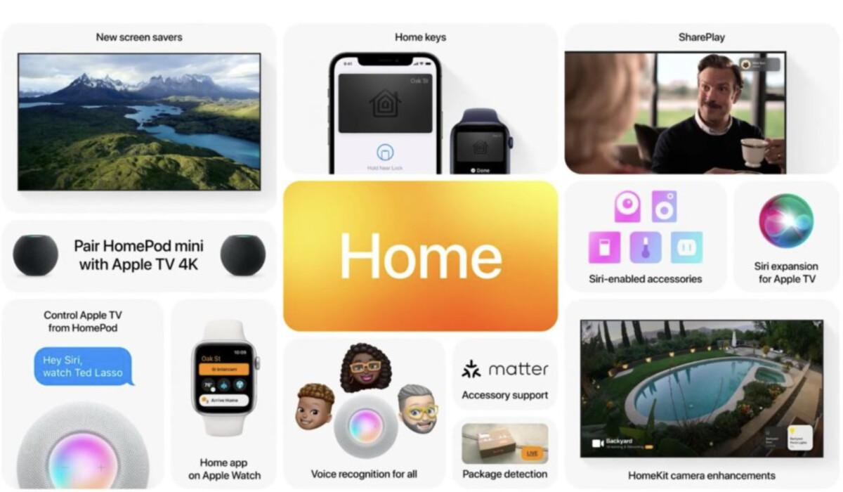 Les améliorations de tvOS 15 pour le HomePod