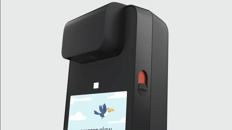 L'Amazon Glow peut mettre la caméra et le micro sur arrêt grâce à un bouton physique