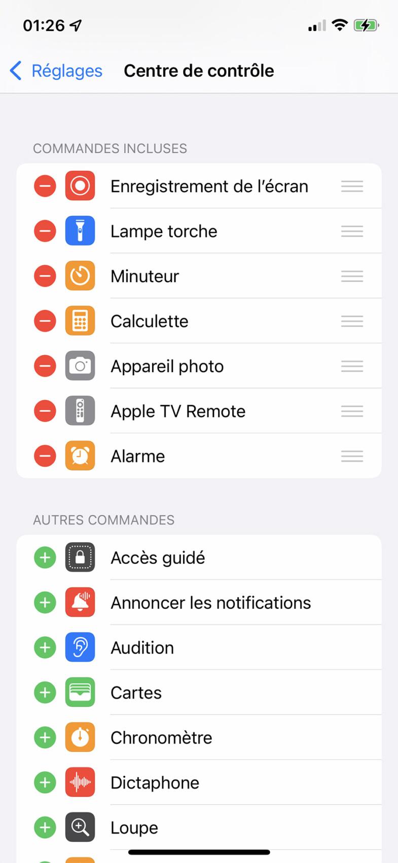 Comment configurer le Centre de contrôle sur iPhone et iPad ?