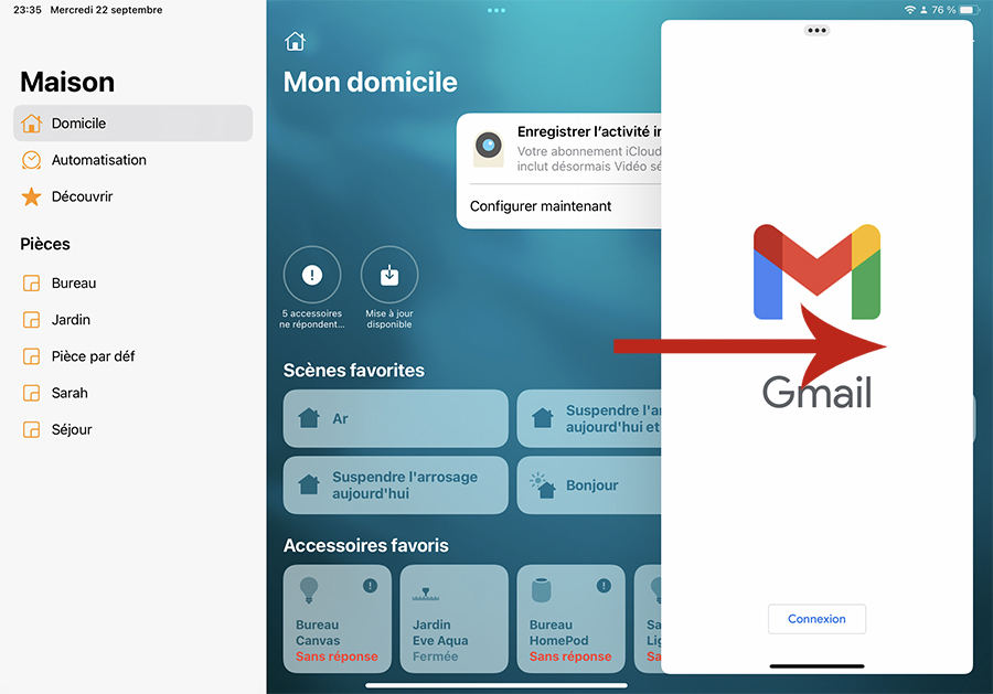 Comment gérer le multifenêtre sur iPad?