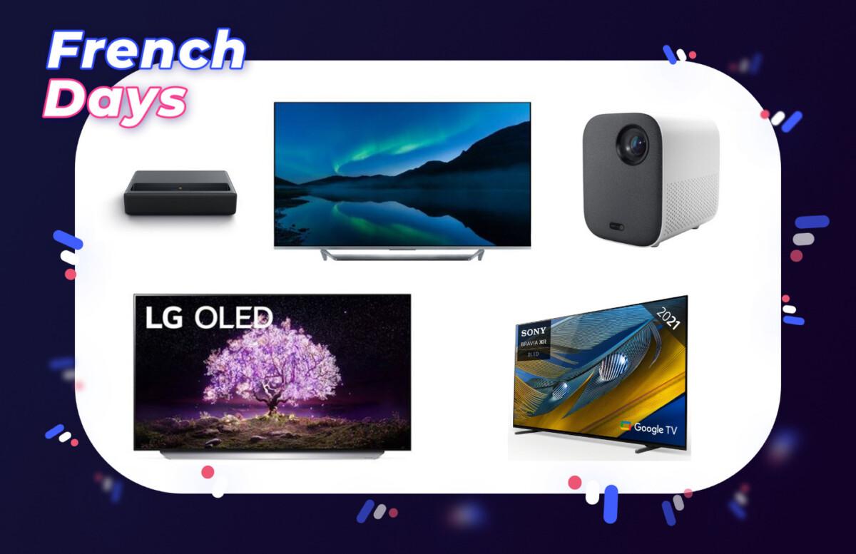 French Days : voici les meilleures offres TV 4K et vidéoprojecteurs