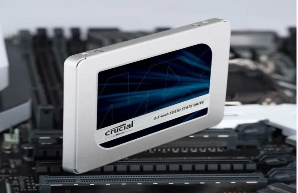 Le SSD Crucial MX500