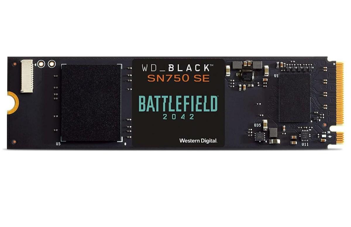 Battlefield 2042 est offert avec ce SSD NVMe 500 Go en promotion (jusqu'à 3 600 Mo/s)