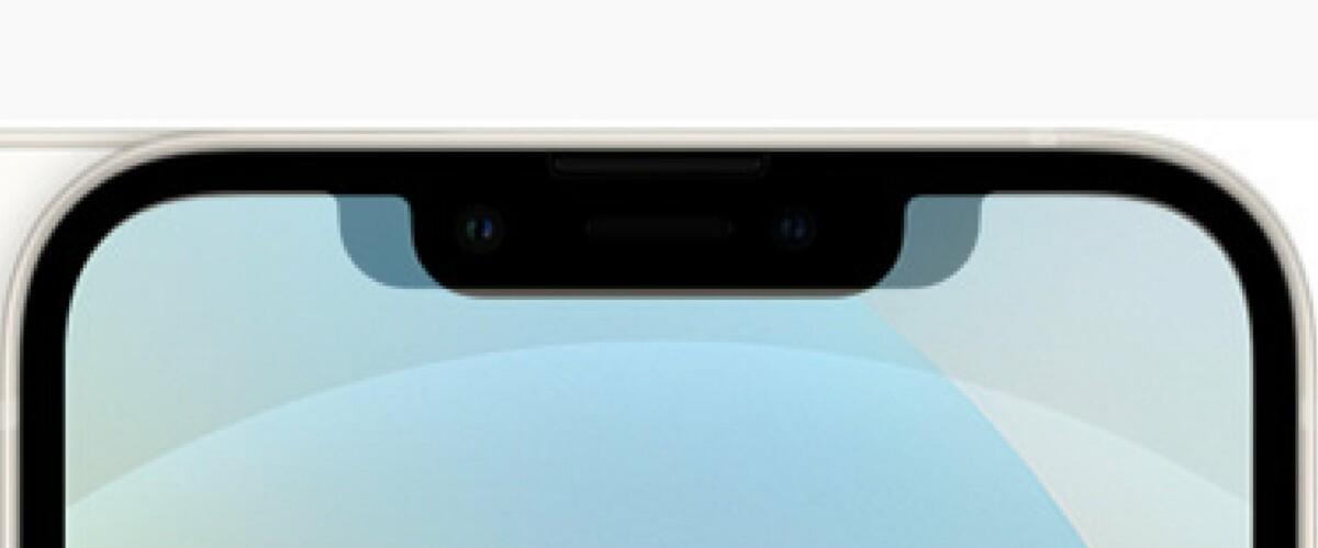 La tacca è molto più stretta rispetto all'iPhone 12